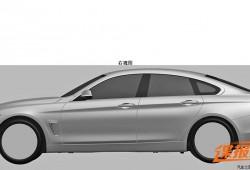 El BMW Serie 4 Gran Coupe se deja ver en sus patentes de diseño
