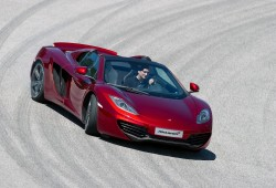 McLaren sustituirá los limpiaparabrisas por la tecnología de los aviones de combate