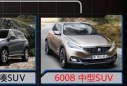 Peugeot 6008, primera imagen filtrada