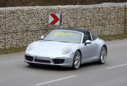 Porsche 911 Targa 2014: su diseño, al descubierto