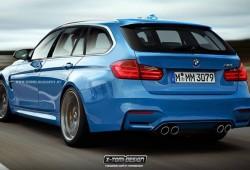 Así podría ser el BMW M3 Touring 2015