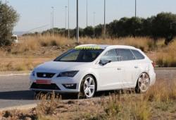 Seat León ST Cupra, primeras imágenes al descubierto