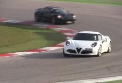 Así suena el motor del Alfa Romeo 4C