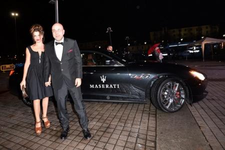 El Maserati Quattroporte en el Festival de Cine de Turín