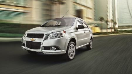 México - Noviembre 2013: El Chevrolet Aveo sube al primer puesto