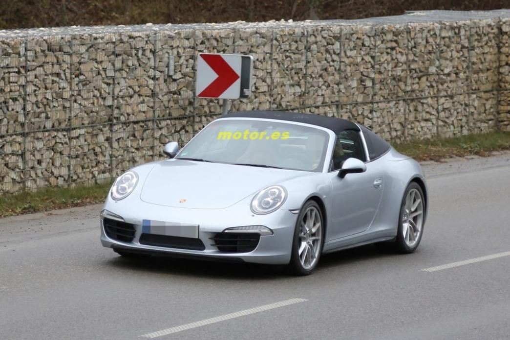Porsche 911 targa 2014 su dise o al descubierto - Porche diseno ...