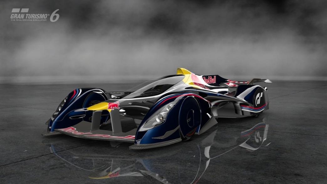 Red Bull X2014, un diseño de Adrian Newey en exclusiva para Gran Turismo 6