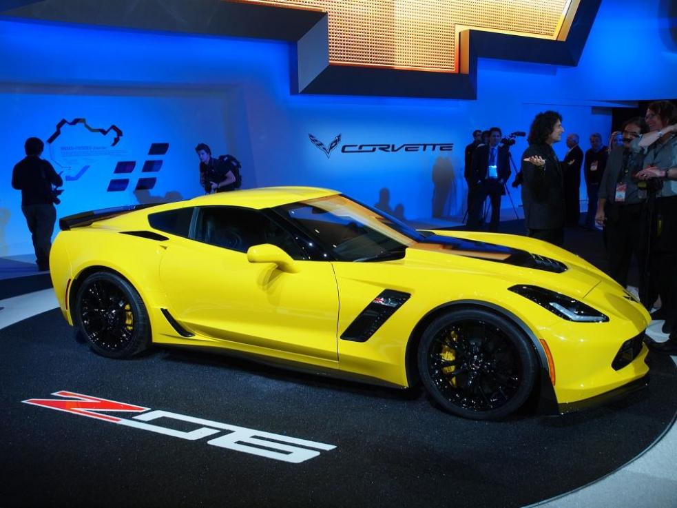 Corvette C7 Z06 2015, dejen paso al Corvette más bruto