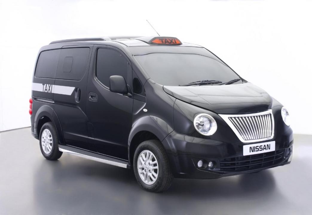 El Nissan NV200, también como taxi en Londres