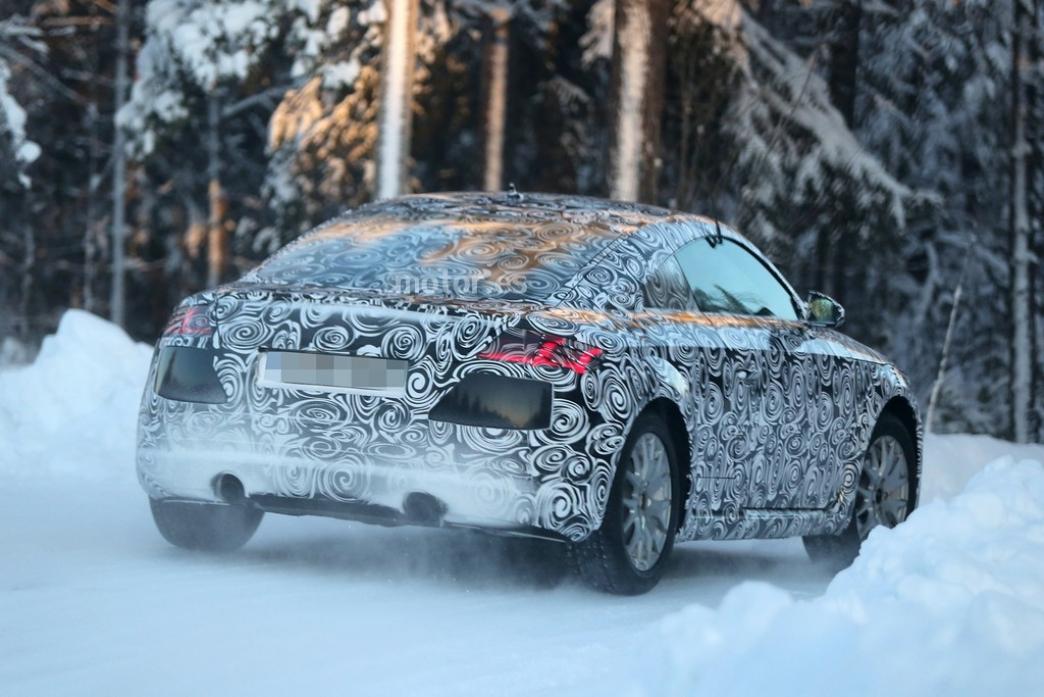 Audi TT 2014, últimas pruebas antes de su debut en Ginebra