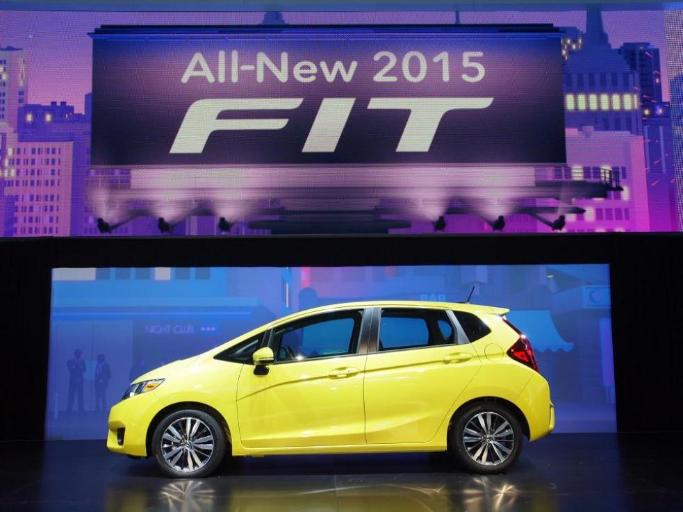 Honda Fit 2014, el nuevo Jazz se presenta en Estados Unidos