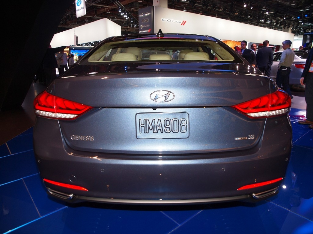 Hyundai Genesis 2014, presentado oficialmente en el Salón de Detroit