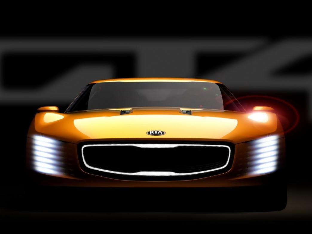 Kia GT4 Stinger, así es el prototipo de coupé deportivo de Kia