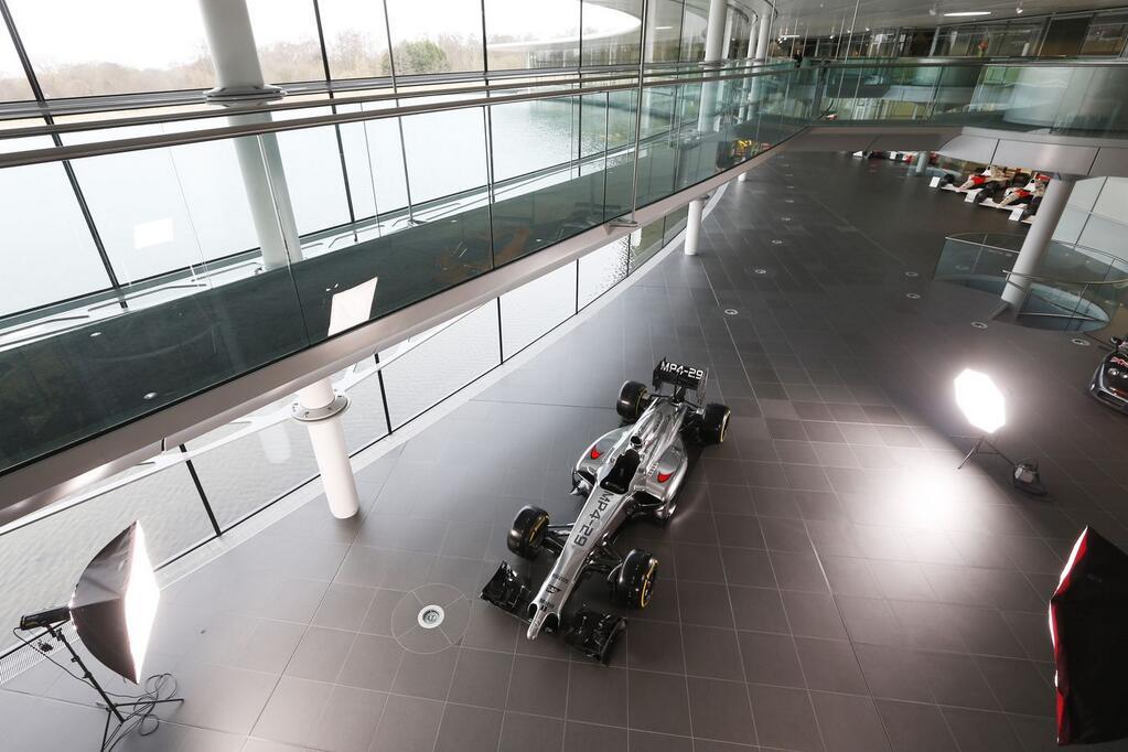 McLaren presenta el MP4-29, su nuevo coche de F1 para 2014