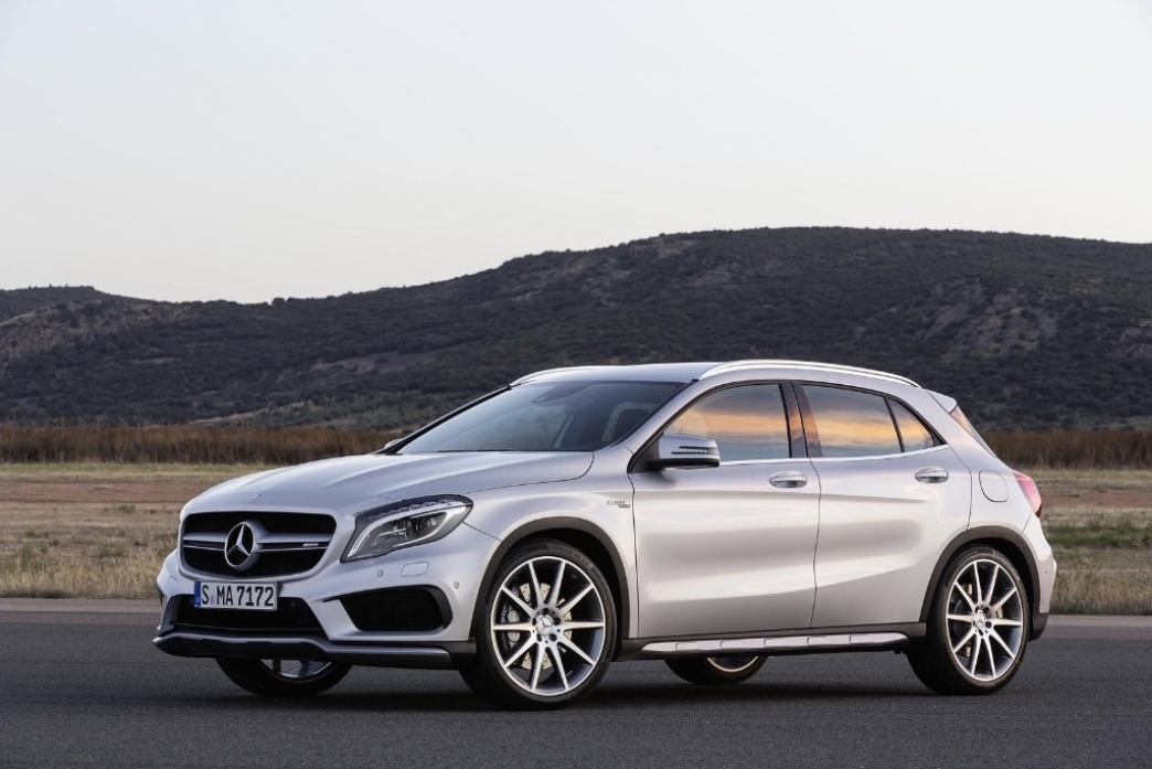Mercedes GLA 45 AMG, al detalle