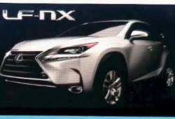 ¿Es este el Lexus LF-NX de producción?