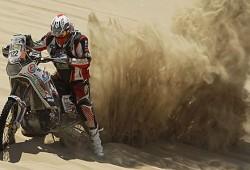 Muere Eric Palante, piloto de motos en el Rally Dakar