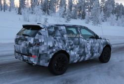 Land Rover Freelander 2015, imágenes en la nieve
