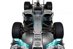 Mercedes W05: el más estético
