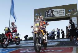 Marc Coma gana su tercera etapa y ya acaricia el triunfo