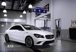 Mercedes-Benz CLA D2 Edition, en blanco y negro por D2Autosport