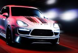 Porsche Cayenne 958 Black Bison Edition, por Wald International