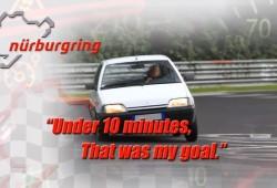 Cómo correr y disfrutar en Nürburgring con un Citroën AX diésel