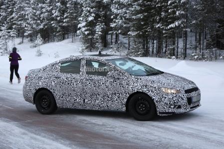 Chevrolet Cruze 2016, fotos espía