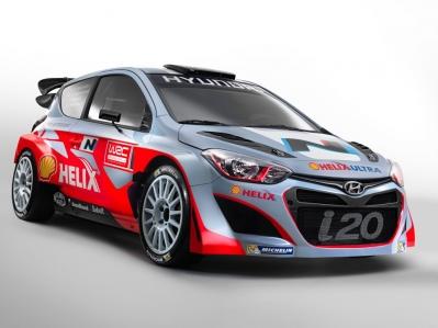 El Hyundai i20 WRC calienta motores para el Rally de Monte-Carlo