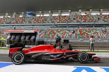 Presentación del nuevo Marussia, el MR03