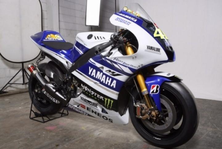 La nueva Yamaha YZR-M1 de Valentino Rossi y Jorge Lorenzo