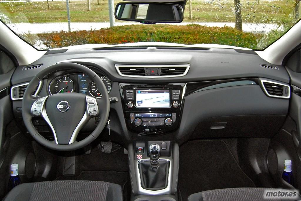 Prueba nissan qashqai 2014 presentaci n iv for Nissan qashqai 2014 interior