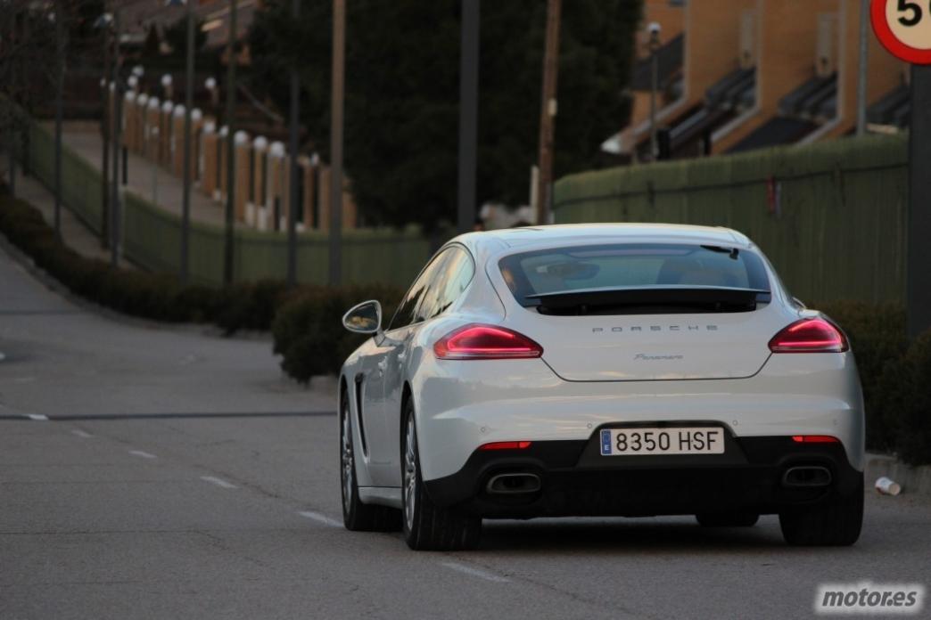 Porsche Panamera Diesel, en marcha (IV)
