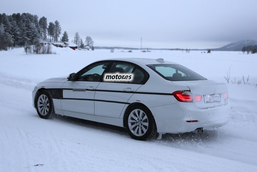 BMW trabaja en un híbrido enchufable del Serie 3