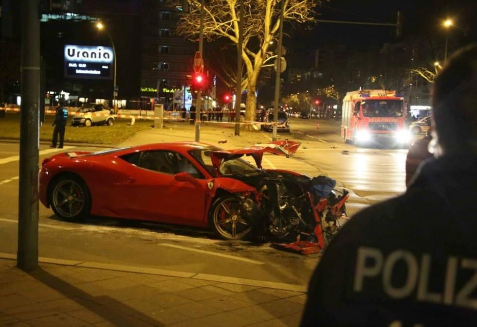 El Ferrari 458 Speciale sufre su primer accidente