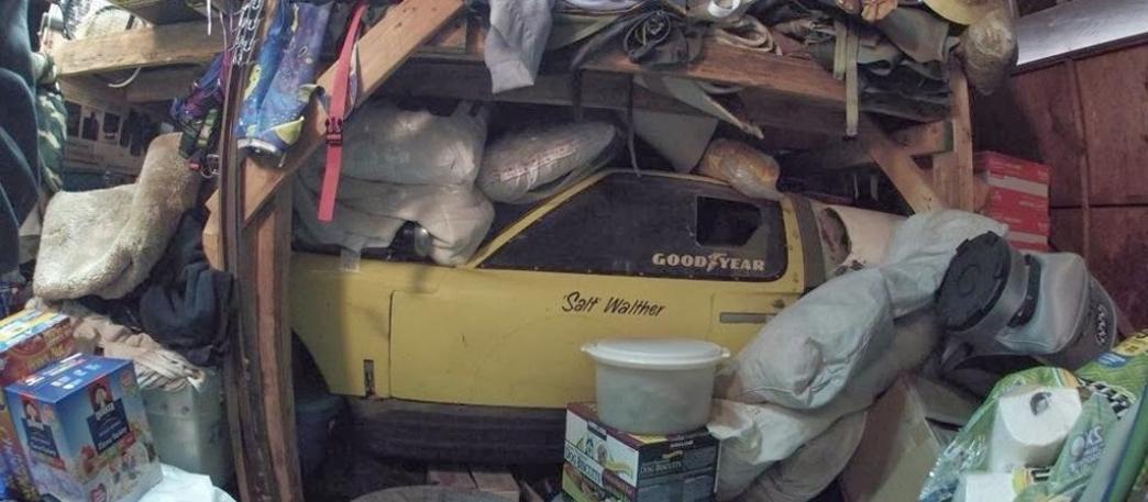 El Ford GT40 que espera ser reparado desde 1977