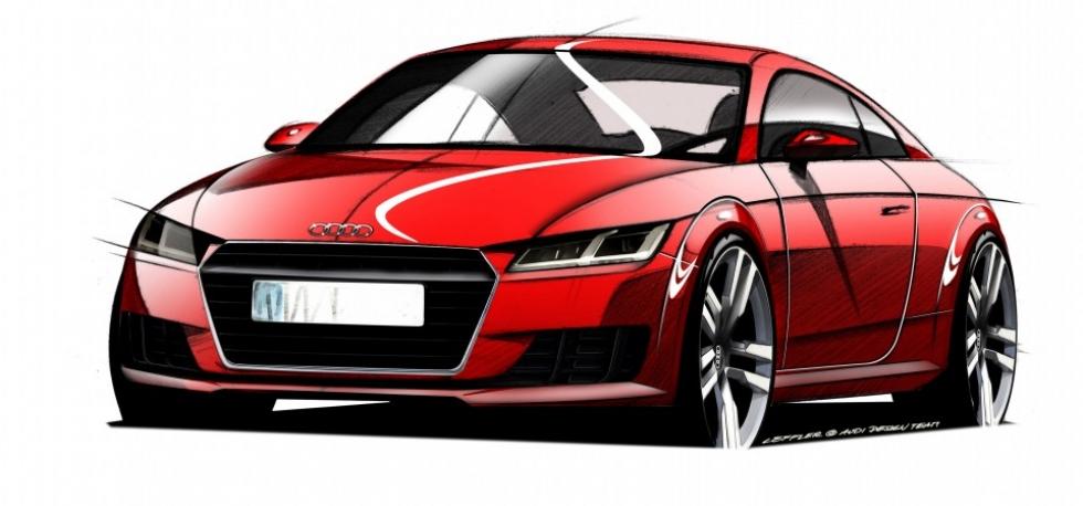 El nuevo Audi TT se presentará en el Salón de Ginebra 2014