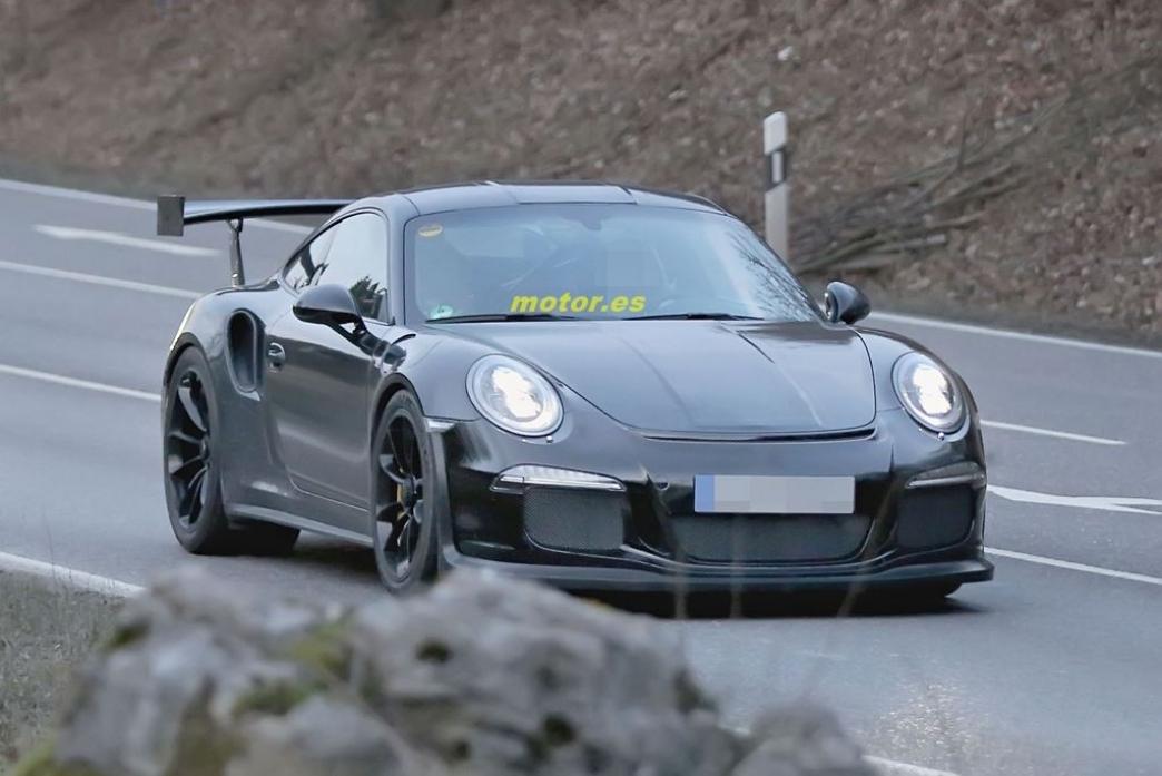 Porsche 911 GT3 RS 2015, al desnudo