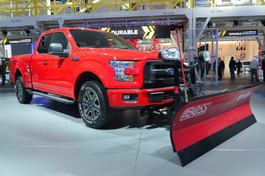La Ford F 150 2015 dispondrá de quita nieves para afrontar los duros inviernos americanos