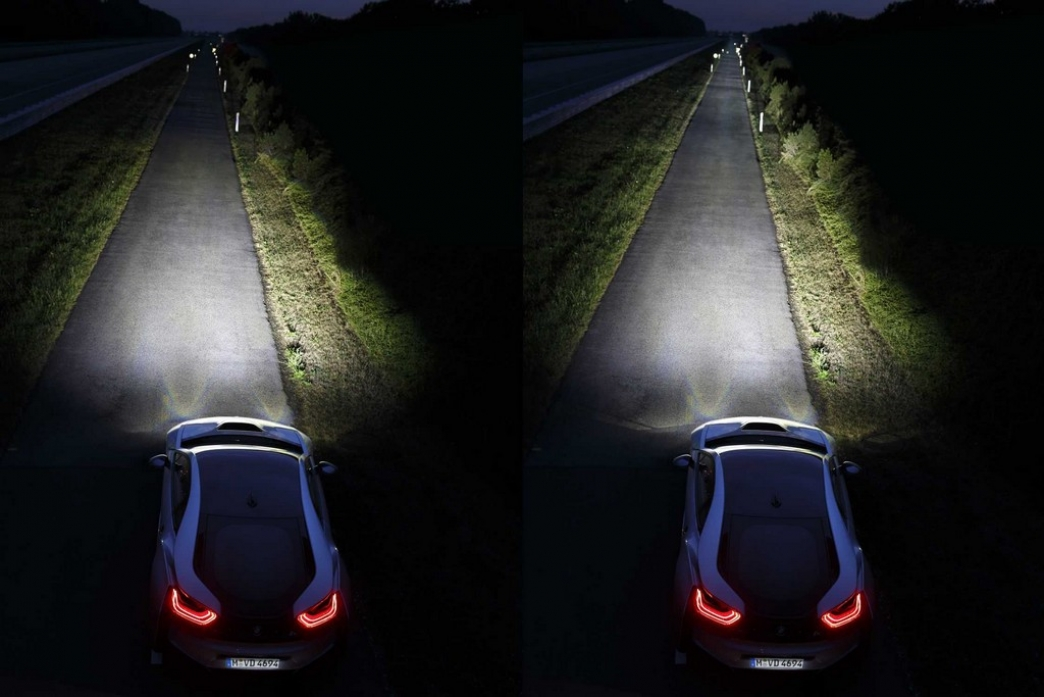 Luces láser para los BMW a partir de Otoño