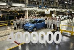 Cuatro millones de Renault Mégane fabricados en Palencia