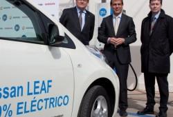Ibil y Nissan inician la ampliación de puntos de recargas rápidas para los vehículos eléctricos