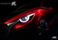 Mazda Hazumi Concept, el sucesor del Mazda 2 estará en Ginebra