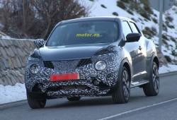 Nissan Juke 2015, primeras imágenes de su restyling con nuevo frontal y trasera