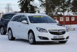 Opel Insignia 2016, la nueva generación ya se encuentra en sus primeras pruebas