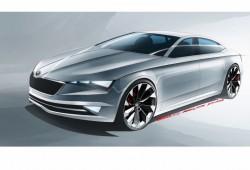Skoda VisionC, un nuevo coupé de cinco puertas para Ginebra 2014