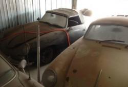 Un Porsche 356 Roadster olvidado, a la venta en eBay