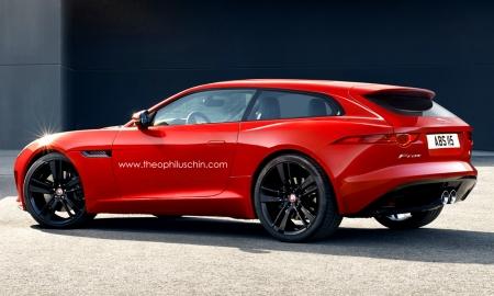 Imaginando un Jaguar F-Type Shooting Brake