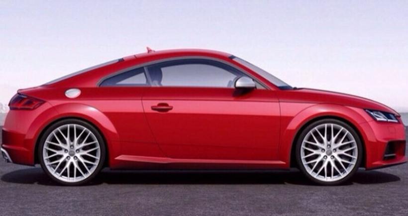 Audi TT 2015, sus primeras imágenes al desnudo