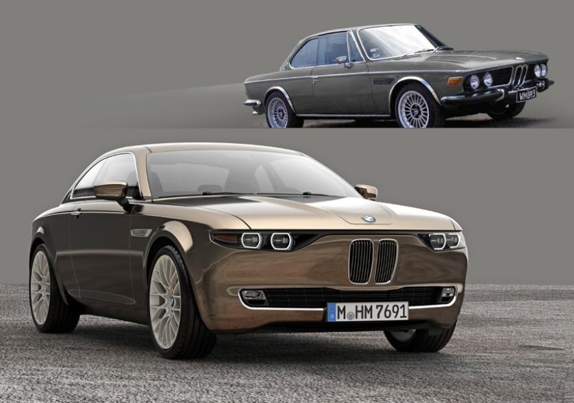 BMW CS Vintage Concept, la reinterpretación del mítico BMW E9